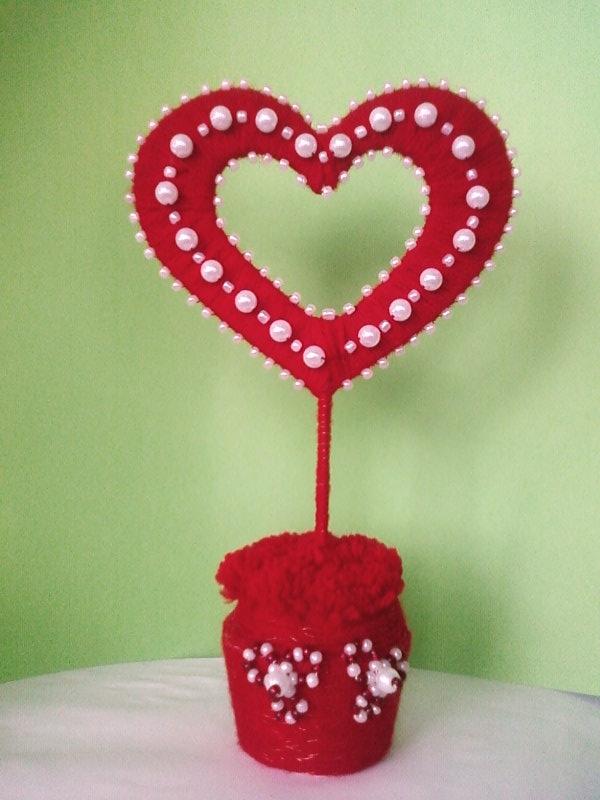 День святого валентина сердечки своими руками